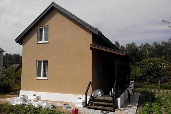 Каркасный дом с мансардным этажом в Винницкой области