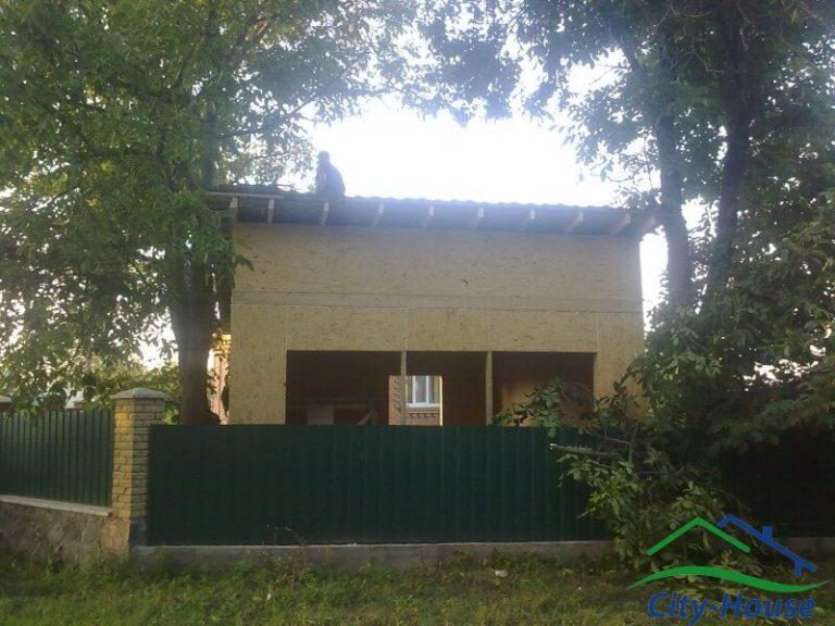 Каркасный магазин из СИП панелей в Винницкой области