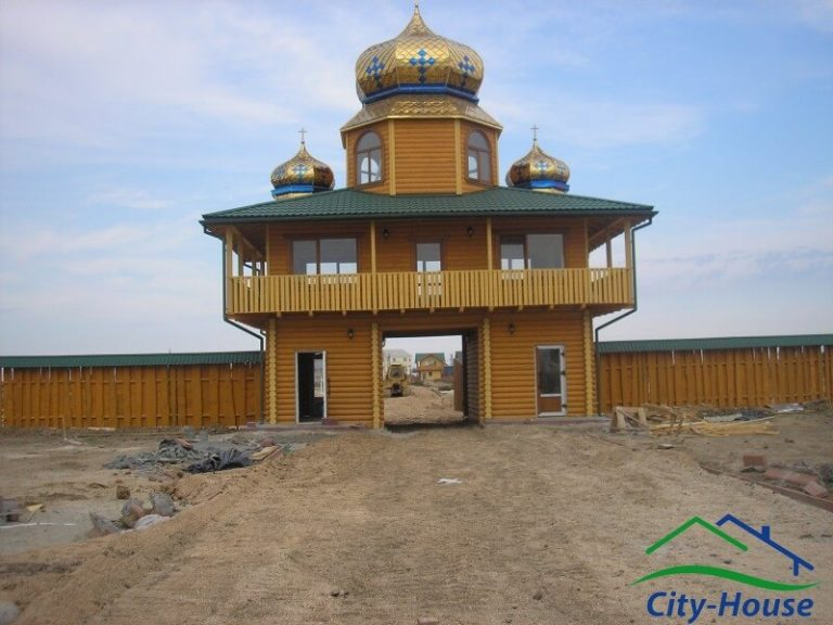 Коттеджный городок из СИП панелей в Херсонской области