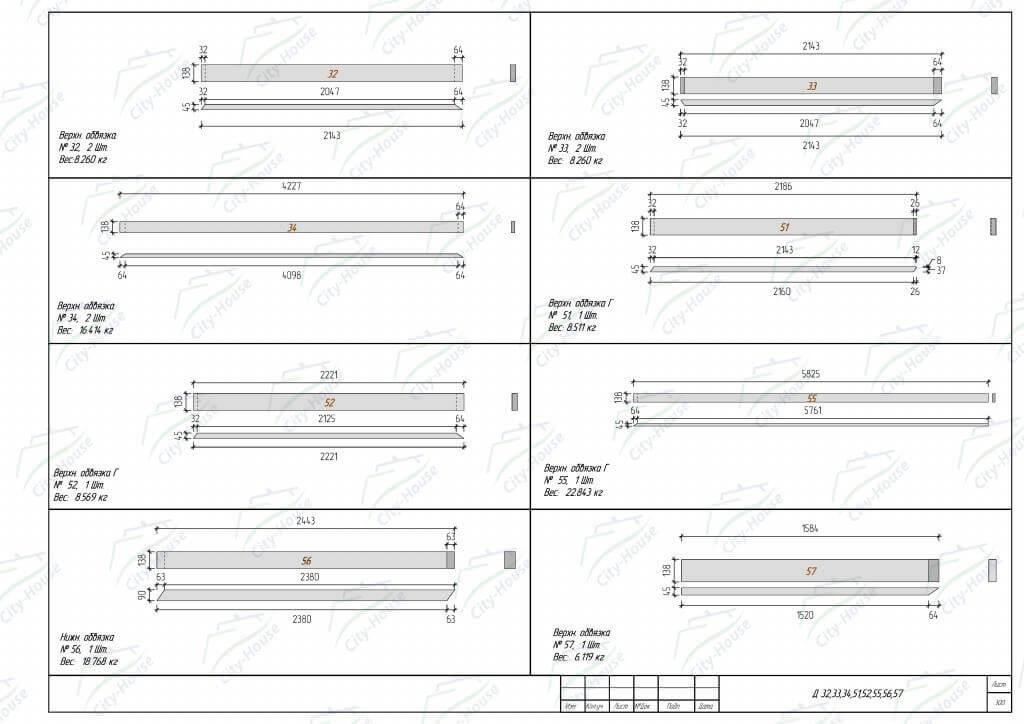 Чертежи деталей домокомплекта из СИП панелей