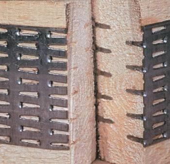фермы на металлических зубчатых пластинах (МЗП)