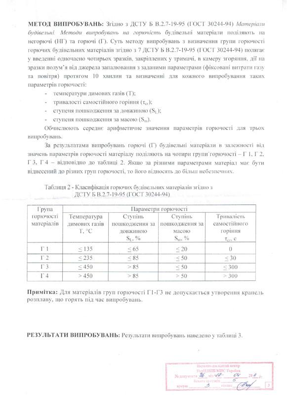 Сертификаты на пенополистирол ПСБ-С-25