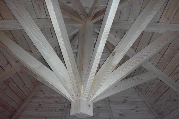 Клееный брус для строительства домов из СИП панелей