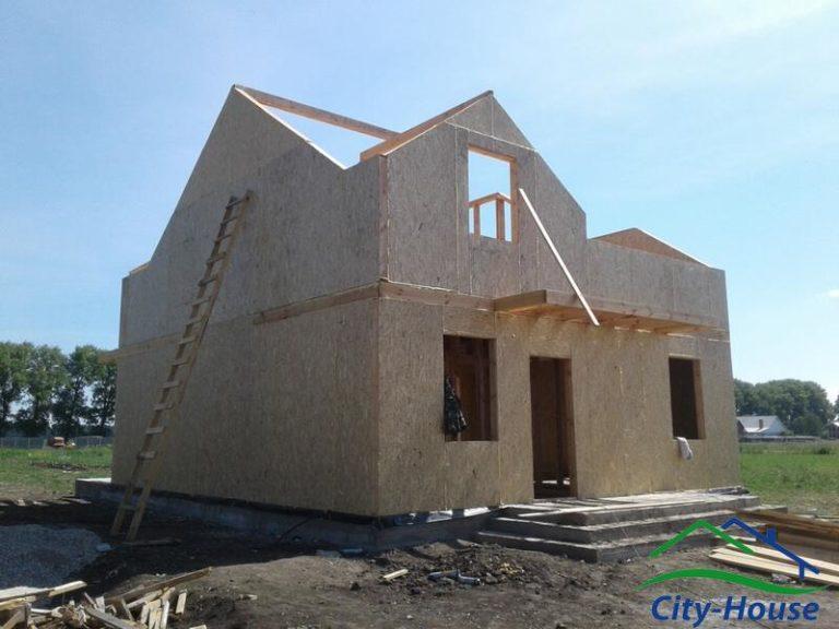 """Дом строится по комплектации домокомплекта """"Оптимальный"""""""