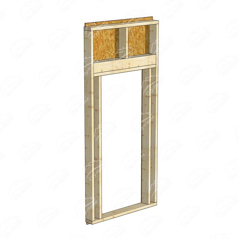 Каркасный модуль двери КМД-1254-900