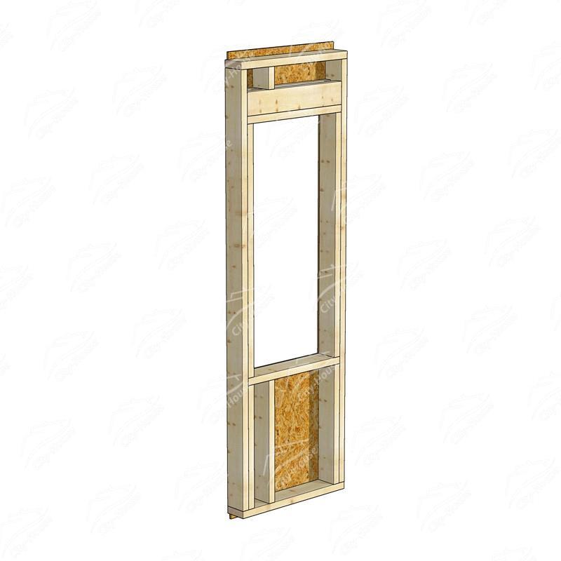 Каркасный модуль окна КМО-836