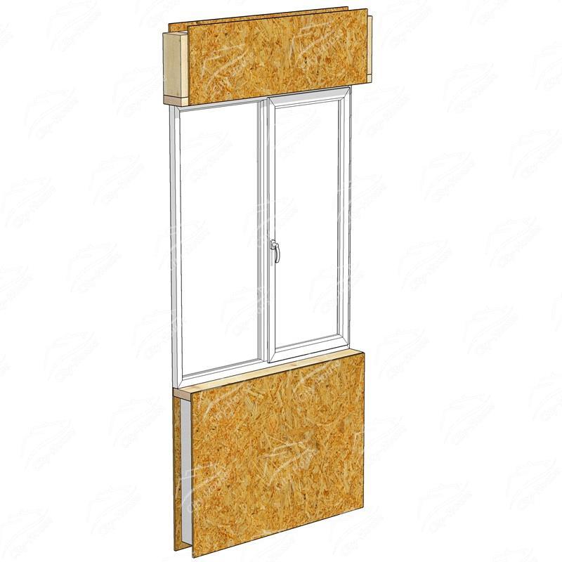 СИП модуль окна СМО-1254