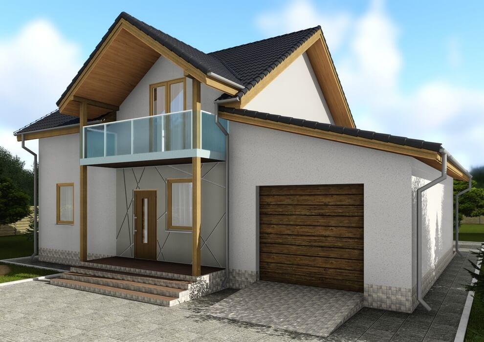 Проект канадского дома C1720 Черноморск