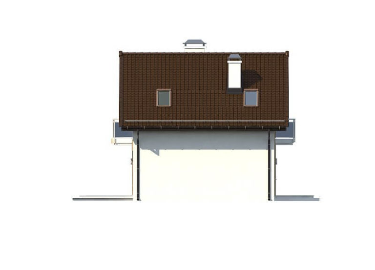 Проект каркасного дома из СИП панелей C1707 Умань