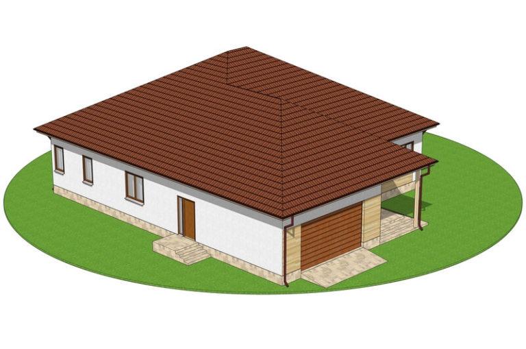 Проект энергосберегающего дома C1722 Крыжополь