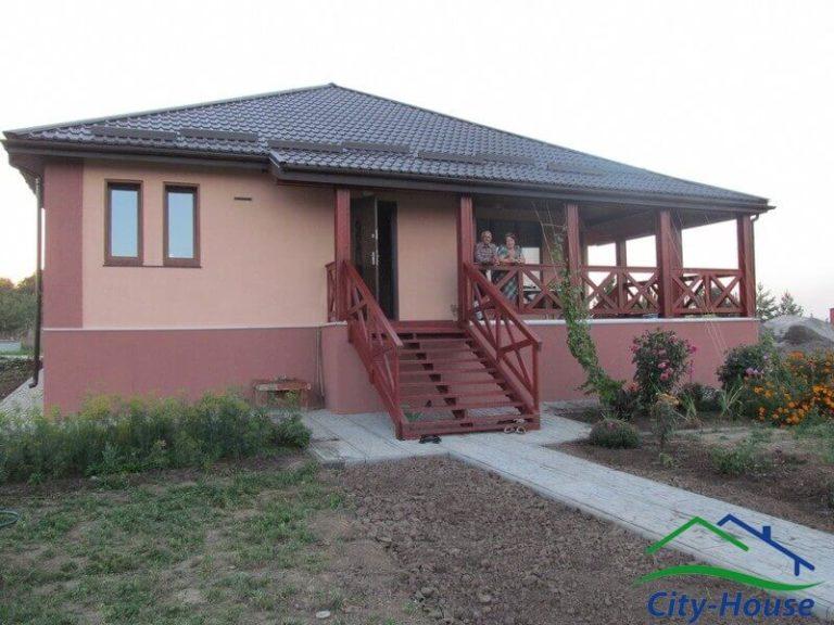 Готовый каркасный дом в Винницкой области