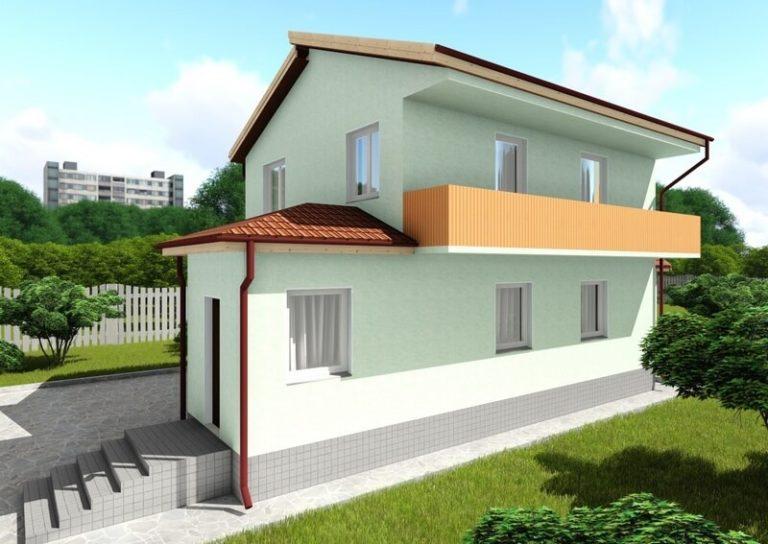 Реконструкция частного дома, надстройка из СИП панелей в Виннице от Сити-Хауз