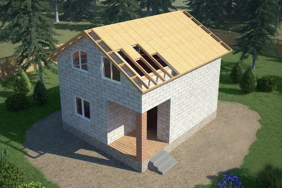Дом из СИП панелей или дом из газобетона, газоблока, пенобетона?