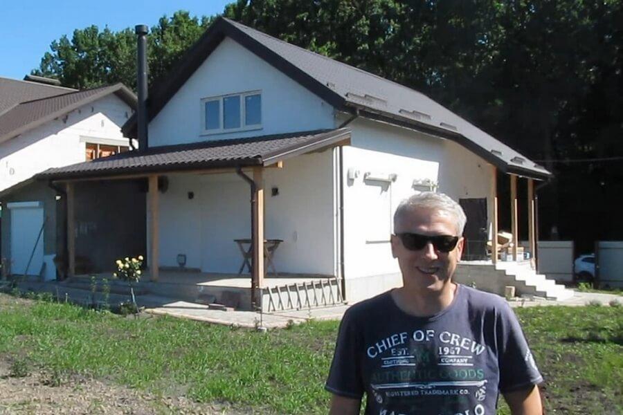 Отзыв Сергея - владельца каркасного дома из СИП панелей