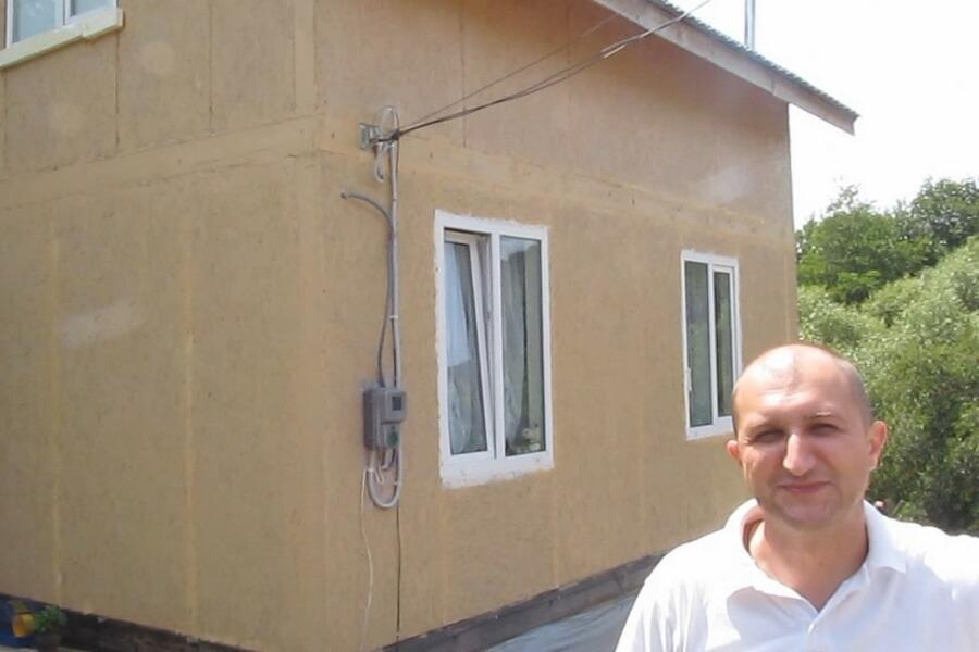 Відгук Юрія - власника каркасного будинку з СІП панелей