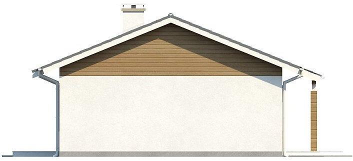 Проект каркасного дома из СИП панелей C1742 Мурованые Куриловцы