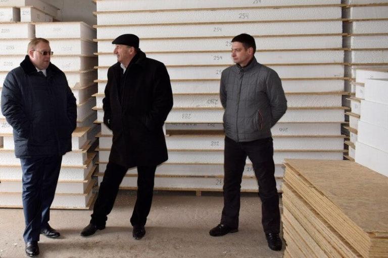 Визит делегации на производство Сити-Хауз