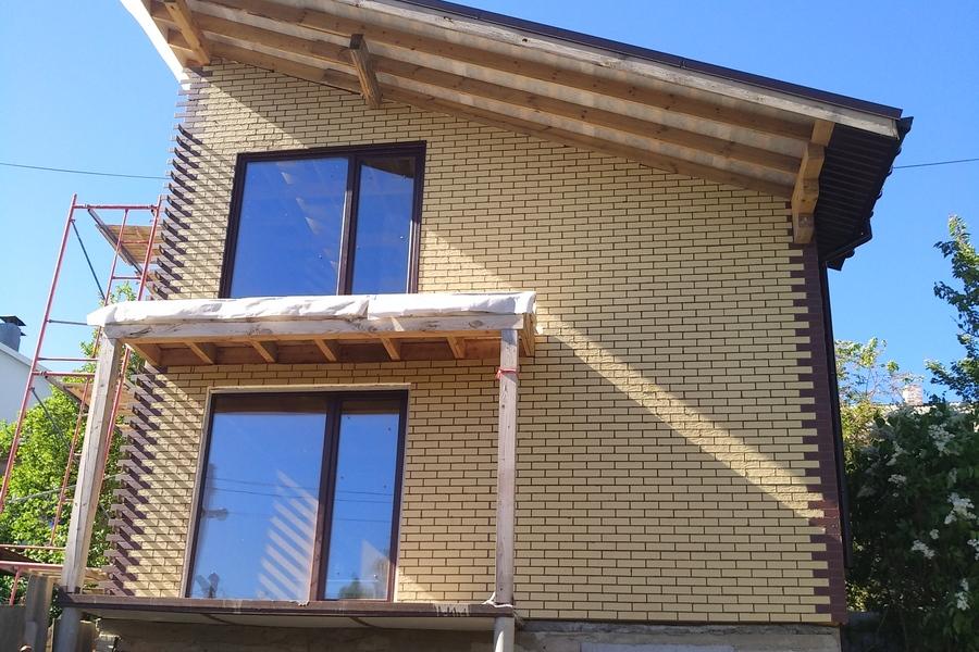 Двухэтажный канадский дом из СИП панелей в Виннице