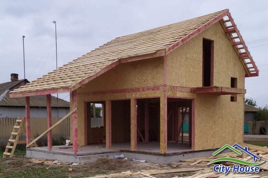 Строим каркасный дом из СИП панелей в Херсоне