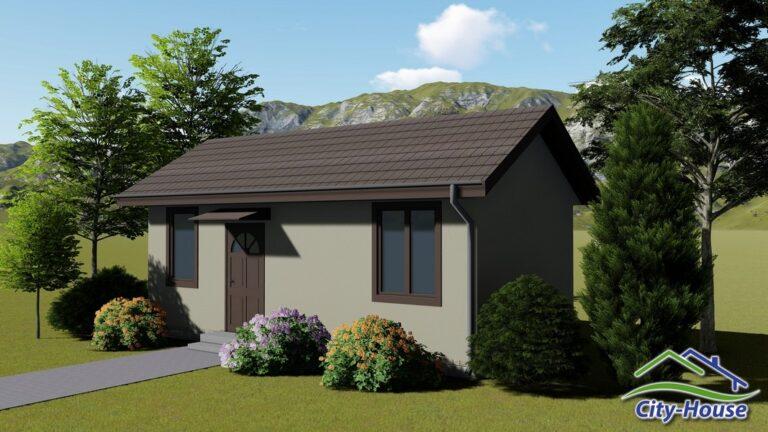 Архитектурная визуализация домика