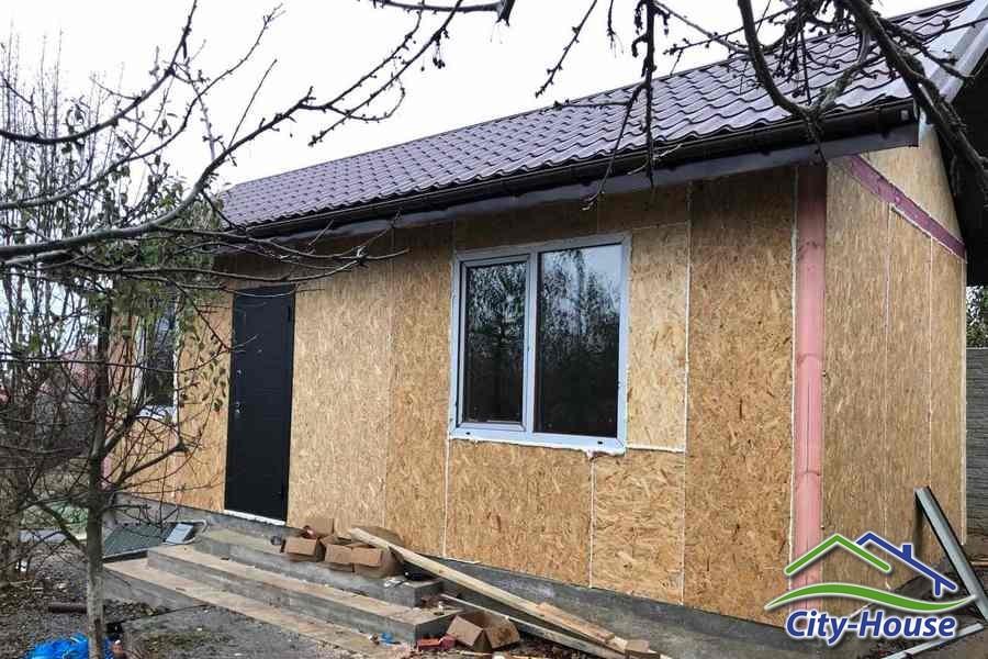 Маленький домик из СИП панелей в Жмеринке