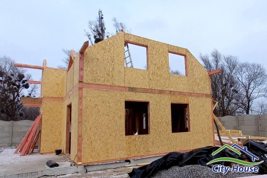 Строим дом из СИП панелей в Киеве
