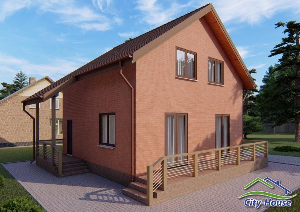 Проект дома с мансардным этажом C1919 Запорожье