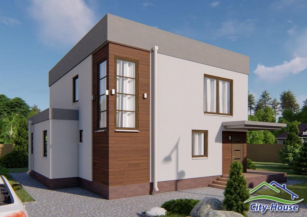 Проект двухэтажного дома с подвалом C1832 Ивано-Франковск