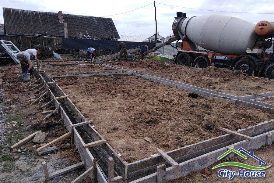 Фундамент под новый каркасный дом в Виннице