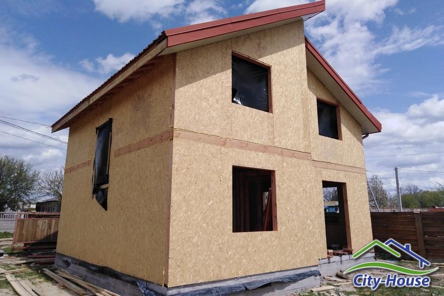 Продолжаем строить СИП дом с мансардным этажом в Виннице