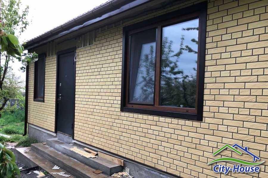 Монтаж вентфасада в доме из СИП панелей в Жмеринке