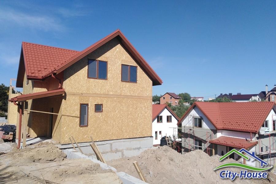 Строительство коттеджного городка по каркасной технологии в Виннице фото