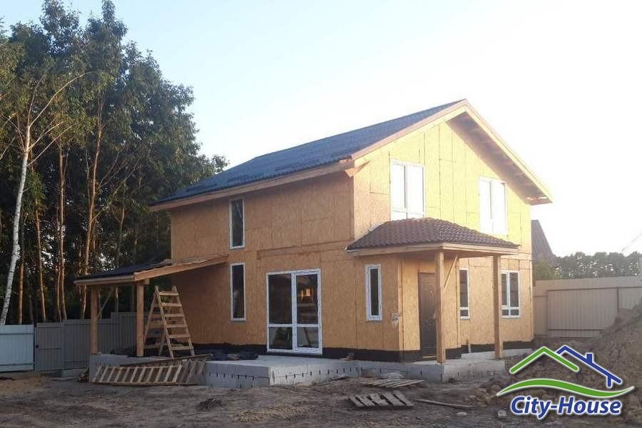 Строим каркасный дом с мансардным этажом в Виннице