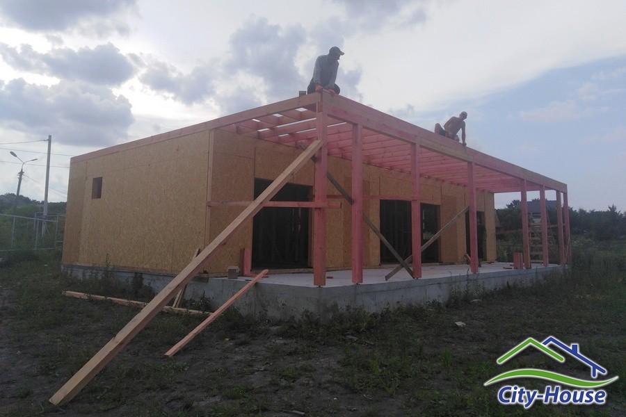 Строим современный дом из SIP панелей с утеплителем Neopor